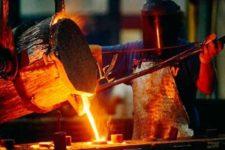 Produção siderúrgica brasileira tem expansão em janeiro