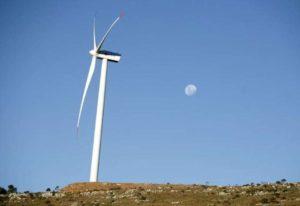 Pá de geração de energia eólica 24/06/2010 REUTERS/Andres Stapff