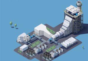 A GE é responsável pela construção e operação da usina (Foto: Caminhos Para o Futuro)