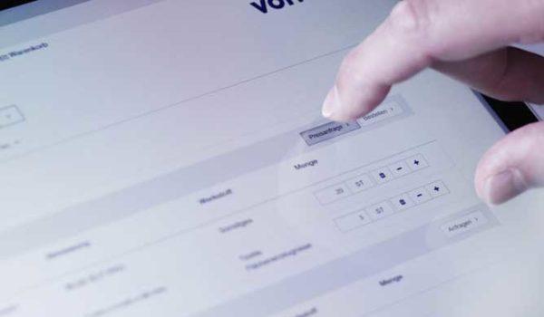 Klabin é a primeira empresa da América do Sul a fazer um pedido via OCI no Webshop da Voith