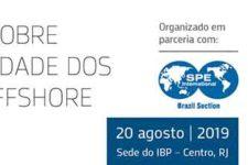 Seminário sobre Competitividade dos Projetos Offshore no Brasil